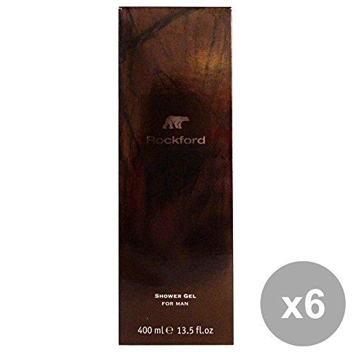 Set 6 Rockford douche homme 400 ml. Les savons et cosmétiques