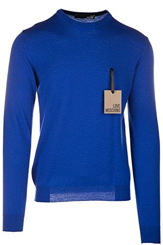 Love Moschino maglione maglia uomo girocollo blu EU M (UK 38) M S 3U8 00 X 0478 40