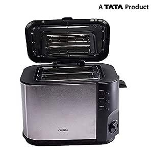 Croma CRK4174 2 Slice Toaster (Black)