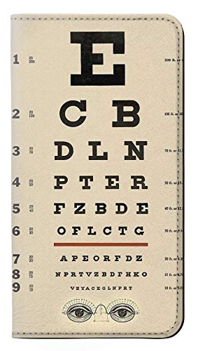 Innovedesire Eye Exam Chart Decorative Decoupage Poster