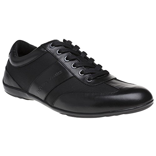Emporio Armani Formal Herren Sneaker Schwarz