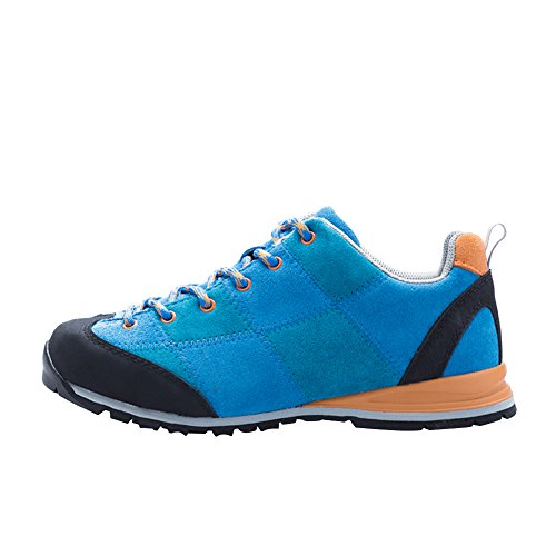 Chaussures de randonne mixte adulte homme bleu+bleu marine