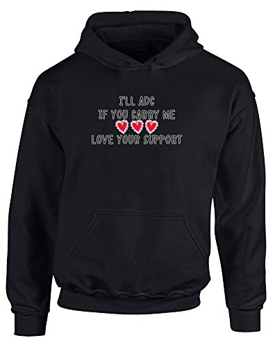 love-your-support-kids-printed-hoodie-jet-black-white-transfer-12-13-years