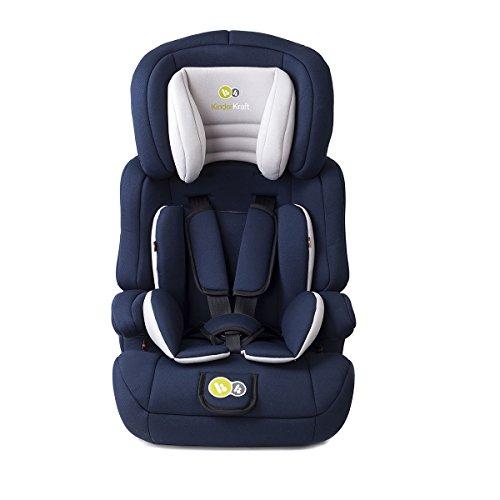 KinderKraft Comfort UP Kinderautositz 9 bis 36 kg Gruppe 1 2 3 Dunkelblau