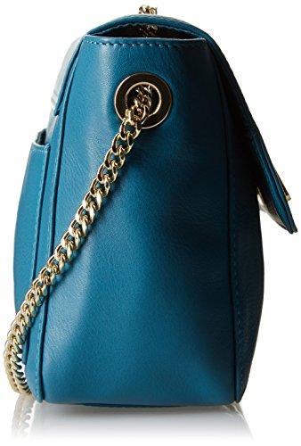 Miyake Petite Bleu donna Canard a Mendigote Borsa Blu spalla 5SxAwSPT