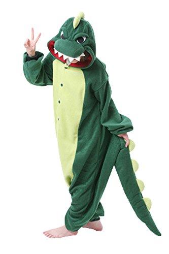 BRLMALL Adult Unisex Animal Sleepsuit Dinosaur Kigurumi Cosplay Costume Party (Kostüme Halloween Elmo)