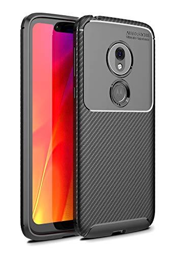 Case Collection Carbonfaser Design Hülle für Motorola Moto G7 Play Hülle (5,7