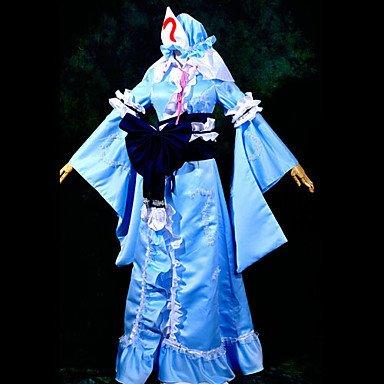 Saigyouji Cosplay Kostüm Yuyuko Project Touhou - Sunkee Touhou Project Cosplay Yuyuko Saigyouji Kostüm, Größe S ( Alle Größe Sind Wie Beschreibung Gesagt, überprüfen Sie Bitte Die Größentabelle Vor Der Bestellung )