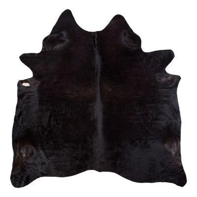 Kuhfell - ca. 3,2 bis 4,5qm Echtfell Leder - robust und haltbar - als Teppich, für die Wand oder Deko- braun oder schwarz