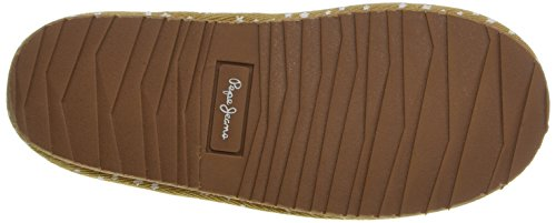 Pepe Jeans Angel Basic, Chaussons Doublé Chaud Fille Marron (855Camel)