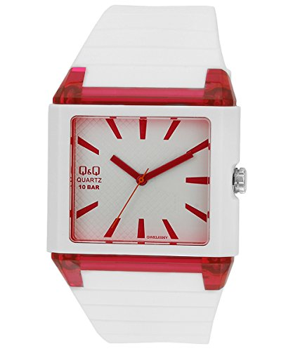 Q&Q Analog White Dial Men's Watch - GW83J006Y image