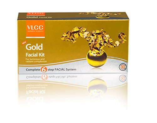 VLCC Gold Radiance Facial Kit (60GM, Pack of 2)