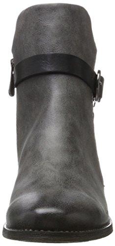 Marco Tozzi Damen 25024 Stiefel Grau (Dk.Grey A.Comb)