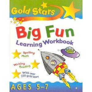 Title: Big Fun Learning Workbook Bumper Gold Stars