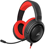 Corsair HS35 - Stereo Gaming Headset - Memory Foam Earcups - Headphones work with PC, Mac, Xbox One, PS4, Swit