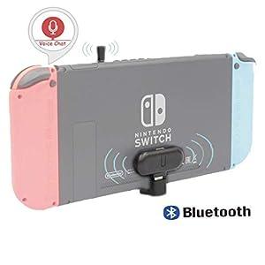 Kabelloser Bluetooth Adapter Kompatibel mit Nintendo Switch, GULIKIT Route + Drahtloser Audio Kopfhörer Sender Lautsprecher USB Typ-C Adapter Sender und Transceiver Kompatibel mit Nintendo Switch