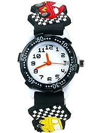 Reloj infantil analogico niña, niños resistente al agua Tiempo Maestro juguete reloj, bebé y