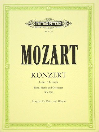 KONZERT C-DUR KV 299 - FL HA ORCH - arrangiert für Querflöte - Klavier [Noten / Sheetmusic] Komponist: MOZART WOLFGANG AMADEUS