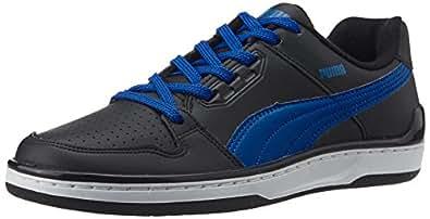 Puma Men's Unlimited Lo DP Black, Snorkel Blue and White Sneakers - 10UK/India (44.5EU)