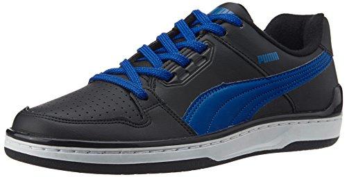 Puma Men's Unlimited Lo DP Black, Snorkel Blue and White Sneakers – 8 UK/India (42 EU) 41 b07ulO1L