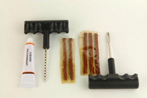 Motodak Meche//Tresse Slime Reparation Pneu VTT tubeless x5