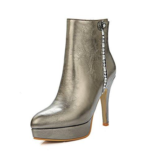 A&N - Pantofole a Stivaletto donna , metallico (metallic), ...