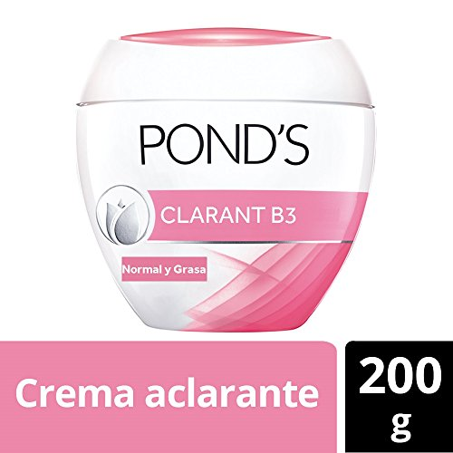 Pond's Clarant B3 Anti-dark Moisturizing Cream, for Normal to Oily Skin, 7oz Crema Aclaradora De Piel Contra Las Manchas 200gr by Pond's