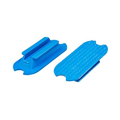 Cottage Craft Fillis Steigbügel Tritt Einlage (4.25in (110mm)) (Blau)