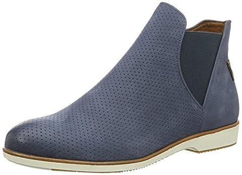 Tamaris Damen 25402 Chelsea Boots, Blau (Navy 805), 39 EU