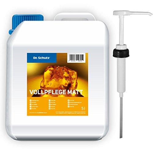 Dr Schutz Vollpflege matt 5 Liter inkl. Dosierpumpe