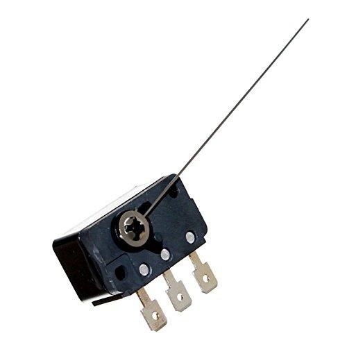 1 Mikrotaster Microswitch mit Hebel / Fahne Öffner Schließer Taster Mikroschalter für Flipper Münzprüfer Tilt Neu Joy-Button -