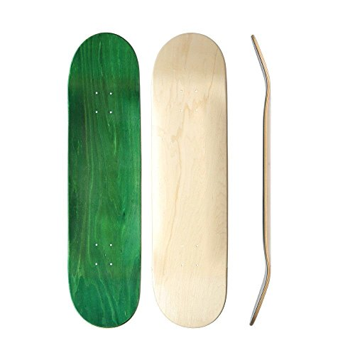 "Skateboard Collective 8.38\"" Blank Skateboard Deck, Random Top/Natural Bottom"