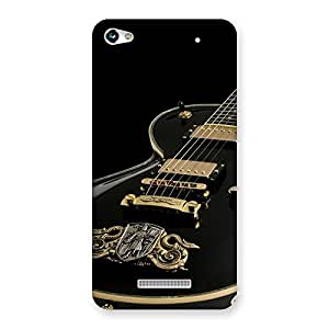 Delighted Music Guitar Back Case Cover for Micromax Hue 2