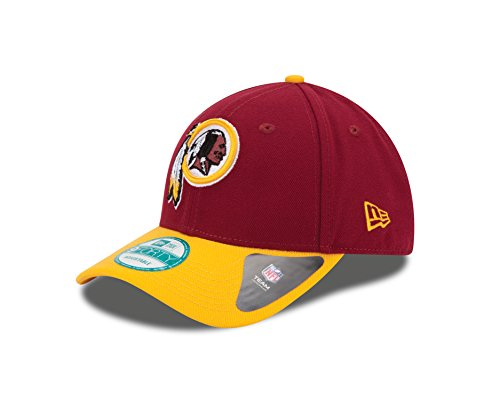New Era Herren 9Forty Washington Skins Kappe, Rot, OSFA