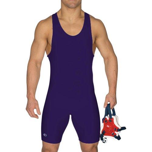 Cliff Keen Relentless Wrestling Singlet lila l7943j, Herren, violett, Large