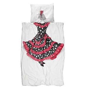 Snurk Bettwäsche Flamenco 135 x 200 cm 100% Baumwolle