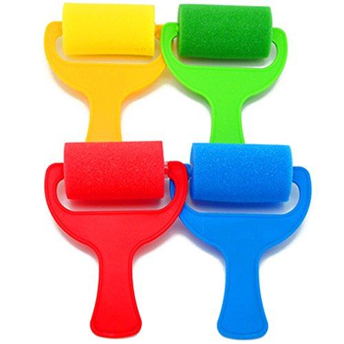 qhgstore-ensemble-de-4pcs-sponge-brosse-paint-roller-kid-artisanat-art-peinture-outil