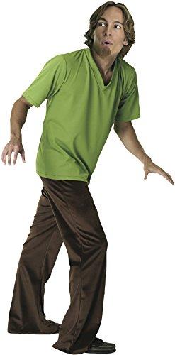 Generique - Shaggy-Kostüm aus Scooby-DOO für Herren Einheitsgröße