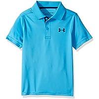 Under Armour Performance Polo Camiseta de Manga Corta, Niños, Azul (713), XL