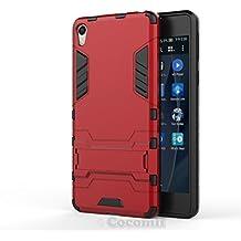 Cocomii Iron Man Armor Sony Xperia E5 Funda [Robusto] Superior Táctico Sujeción Soporte Antichoque
