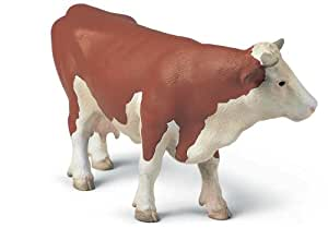 Schleich - 13134 - Figurine - Animaux - Vache Simmetal Franç. Debout