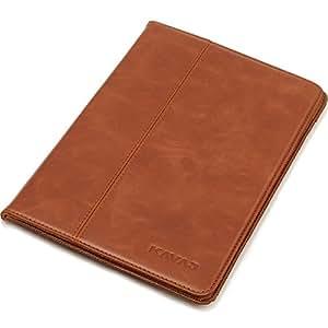 """KAVAJ iPad mini Hülle Echtleder Case """"Berlin"""" für das Apple iPad mini Cognac-Braun aus echtem Leder mit Stand und Auto Schlaf/Aufwachenen Funktion. Dünnes Smart-Cover Schutzhülle Tasche für die iPad mini Generation"""