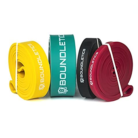 Boundletics Exercise Bands – Resistance Bands for Crossfit, Calisthenics – Chin Band in Various Resistances for Effective Muscle Building, Rot 7-15kg