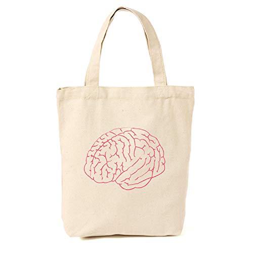 Brain Canvas Tragetasche, Geeky Geschenke für Mädchen, Geek Tote Bag, Nerdy Tote Bag, Geschenke für Lehrer (Mädchen Für Geschenke Geeky)