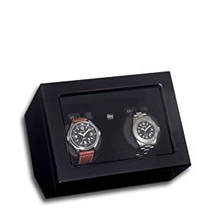 Birkenstock Piano Silk 2 Dual Watch Winder Perfect for Breitling Rolex Omega Cartier Tag Heuer etc