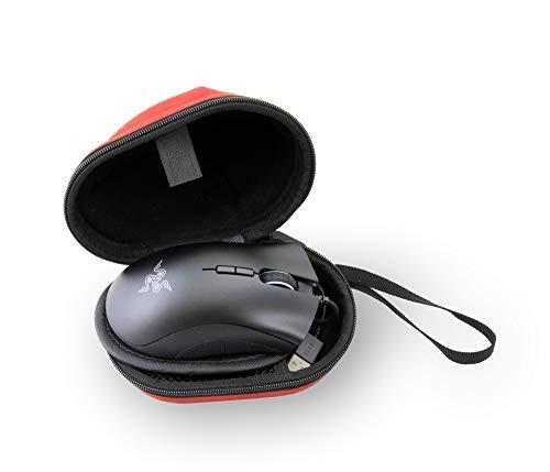 Sieg-computer-tasche (Casematix Gaming-Mauspad für HyperX Pulsefire Surge, Asus Rog, Roccat Kone Pure, Benq Zowie, nur mit Hülle, passend für die meisten Computer-Maus-Modelle)