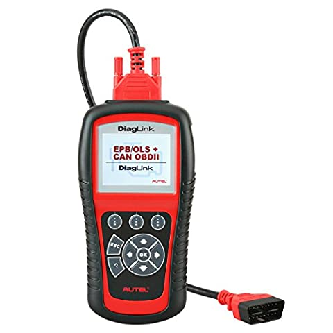 Autel Code Reader Diaglink (DIY Version of MD802) All Systems/Modules Diagnostic Tool for ABS, SRS, Engine, Transmission etc, EPB, Oil