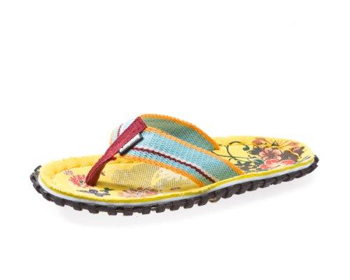 Beachers - Yellow Flowers - Zehentrenner / Sandale - gelb Mehrfarbig
