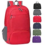 MRPLUM 30L Rucksack Foldable Ultralight Packable Backpack, Unisex Durable Handy Daypack for Travel & Outdoor Sports Durable & Waterproof