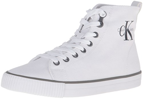 Calvin Klein Jeans Damen Dolores Canvas High-Top Weiß (Wht)
